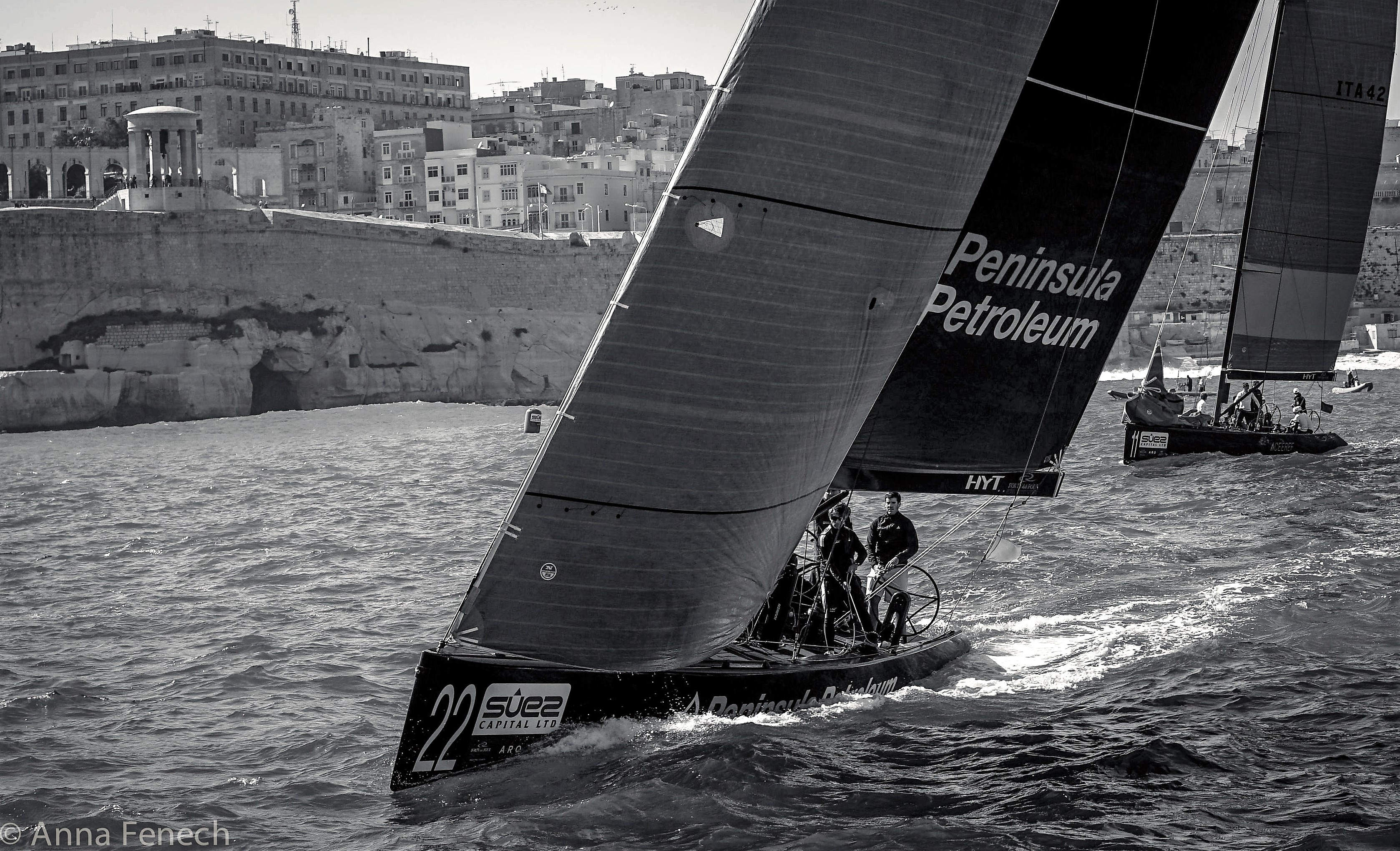 Fenech Farrugia Fiott at the RC44 Match Racing Championships