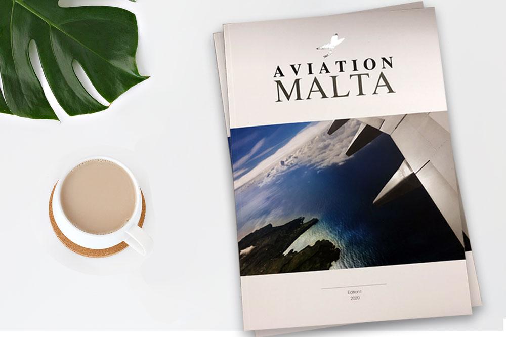 "Contribution to ""Aviation Malta"" Publication"